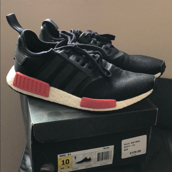 ae0c97c58 adidas Other - Adidas NMD R1 Red and Black Men s Size 10